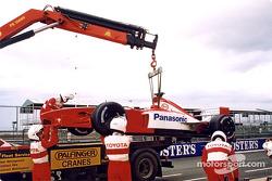 El Toyota F1 en el camión