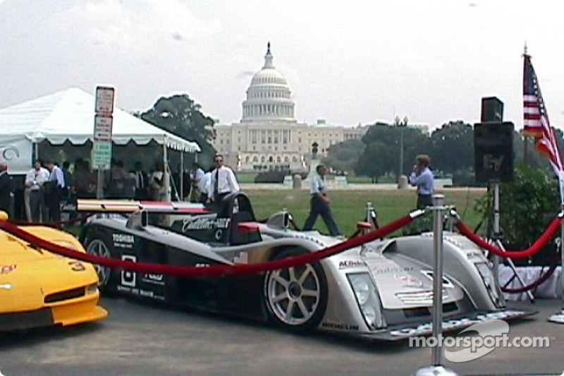Le Mans Sports Car in front of U.S. Capitol