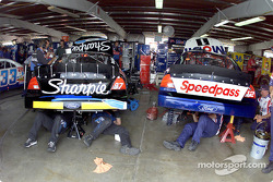 LosFords de Kurt Busch y Jeremy Mayfield comparten garage en Watkins Glen