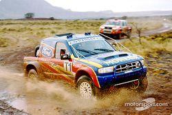 Nouveau Ford Ranger, vainqueur du Queen Motor Spares Tarka 400