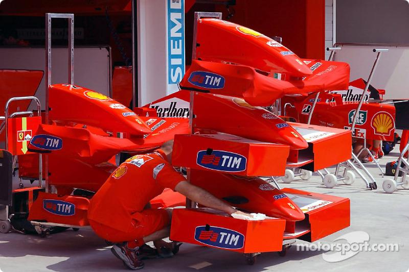 Ferrari garajı