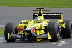 Jean Alesi, EJ11 In otomobil Shakedown