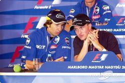Conférence de presse du jeudi : Heinz-Harald Frentzen et Ralf Schumacher