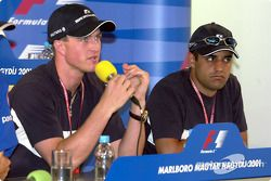 Conférence de presse du jeudi : Ralf Schumacher et Juan Pablo Montoya