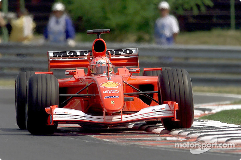 2001 - Michael Schumacher, Ferrari