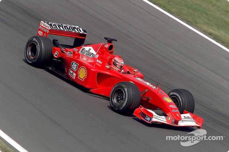 Em 2001, em Budapeste, o alemão igualou a marca de Prost
