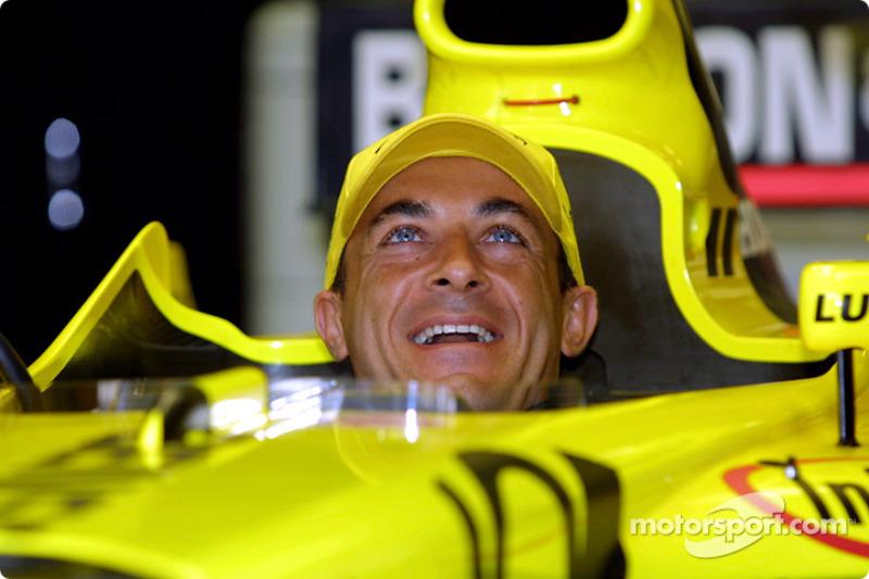 A happy Jean Alesi