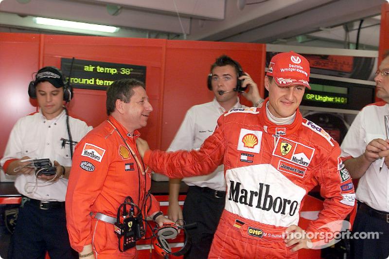 41. Hungría 2001, Ferrari F2001