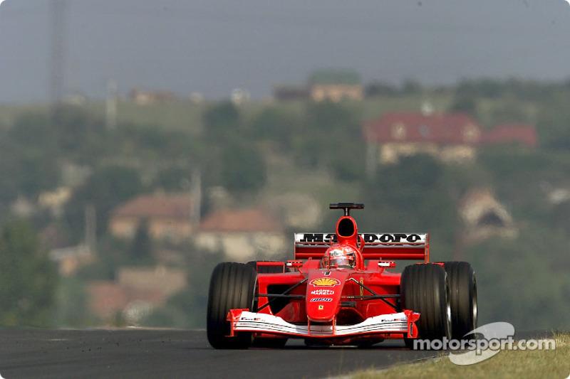 2001: Михаэль Шумахер, Ferrari F2001
