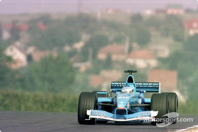 Giancarlo Fisichella en el GP de Hungría