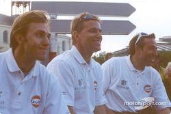 Patrick Lemarié, Stefan Johansson and Tom Coronel