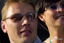 Mika y Erja Hakkinen
