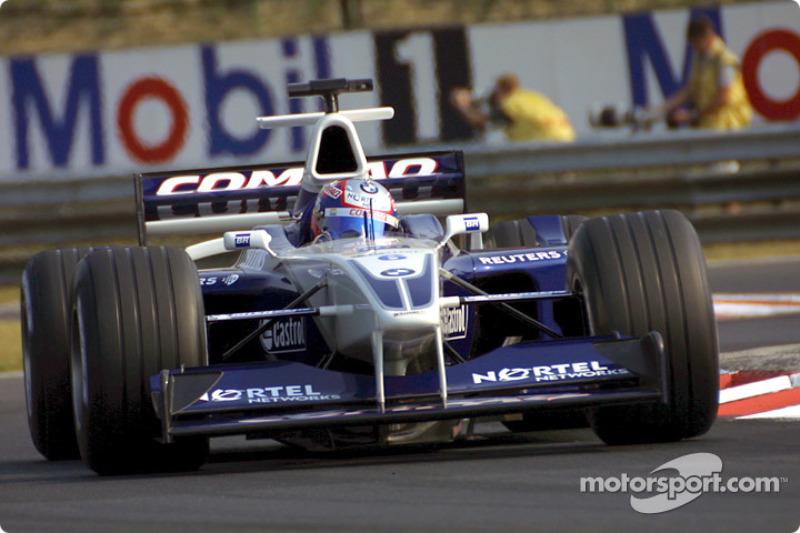Rookie de l'année 2001 : Juan Pablo Montoya