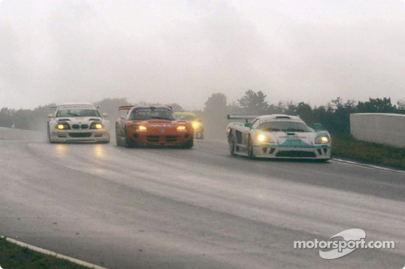 GT and GTS muscle in the rain