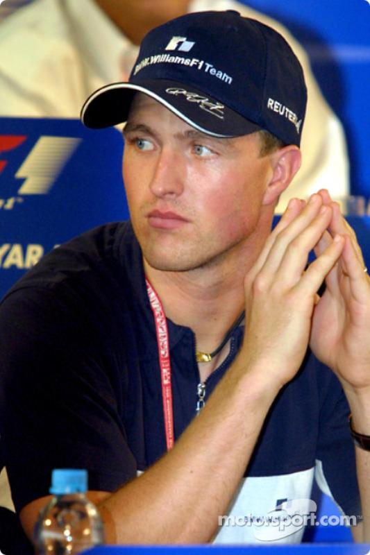 Friday press conference: Ralf Schumacher