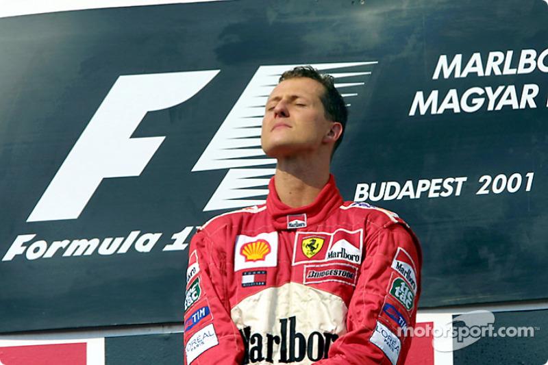 2001 Magyar GP - Ferrari F2001
