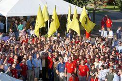 La fiesta en Maranello