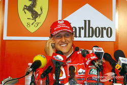 Conferencia de prensa: Michael Schumacher