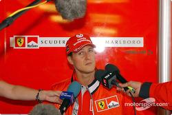 Michael Schumacher rencontre la presse ce jeudi