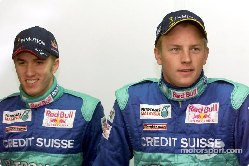Nick Heidfeld ve Kimi Raikkonen