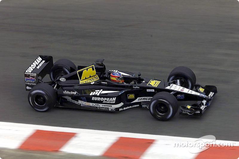 2001 : Fernando Alonso, Minardi PS01