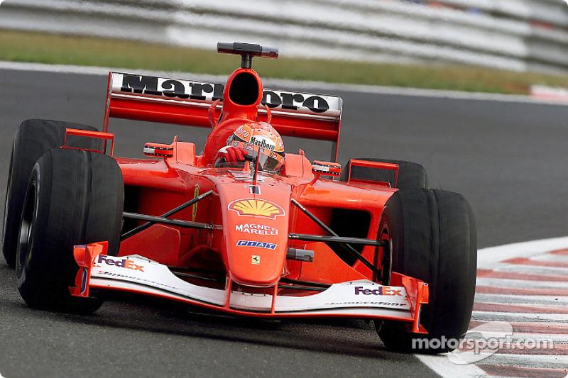 Tapi Schumacher tetap menjadi pembalap tersukses di GP Belgia dengan total enam kemenangan: 1992, 1995, 1996, 1997, 2001, dan 2002.