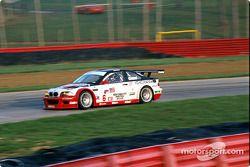 BMW à pleine vitesse