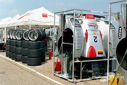 Audi Team prêt pour la course