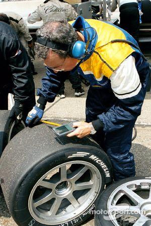 Températures des pneus