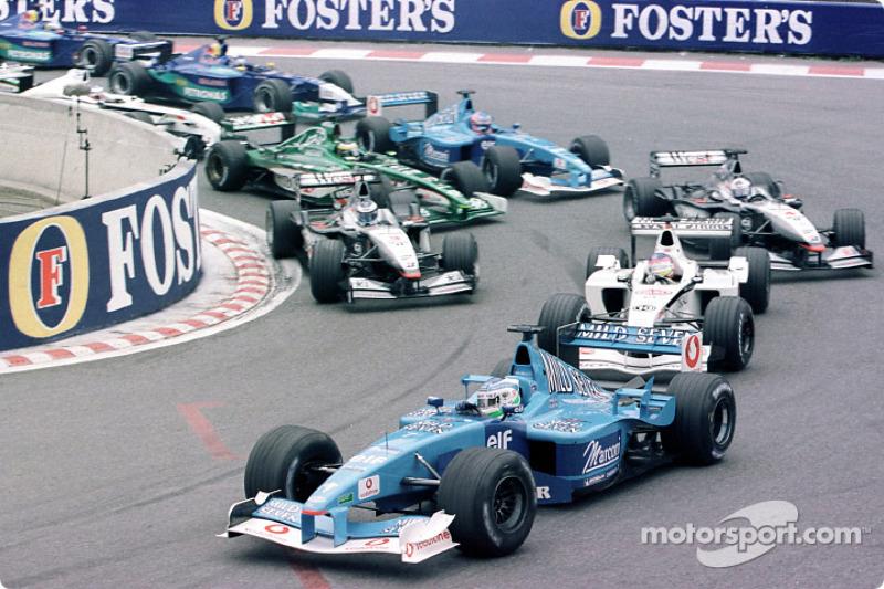 Giancarlo Fisichella en el GP de Bélgica