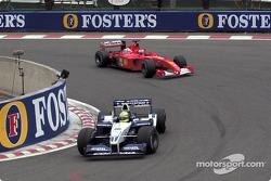 Ralf Schumacher et Rubens Barrichello