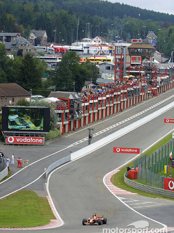Jos Verstappen in Eau Rouge