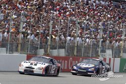 Jeremy Mayfield et Rusty Wallace