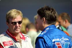 Sterling Marlin y Johnny Benson