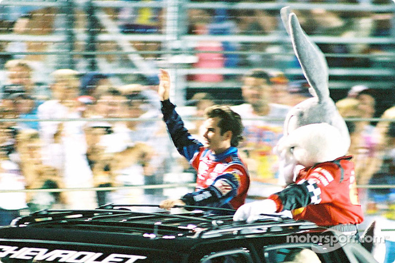 Jeff Gordon y Bugs Bunny