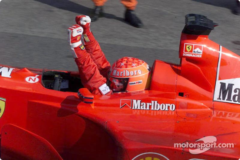Michael Schumacher, Ferrari, entre 2000 y 2001