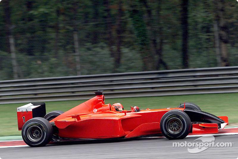 2001. Ferrari F2001