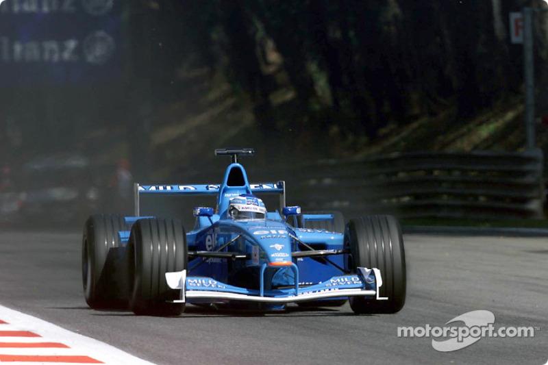 Giancarlo Fisichella en el GP de Italia