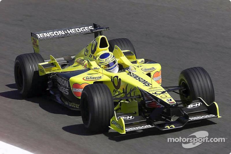 2001 - Honda equipa a Jordan