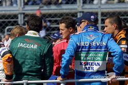 Drivers parade: Michael Schumacher