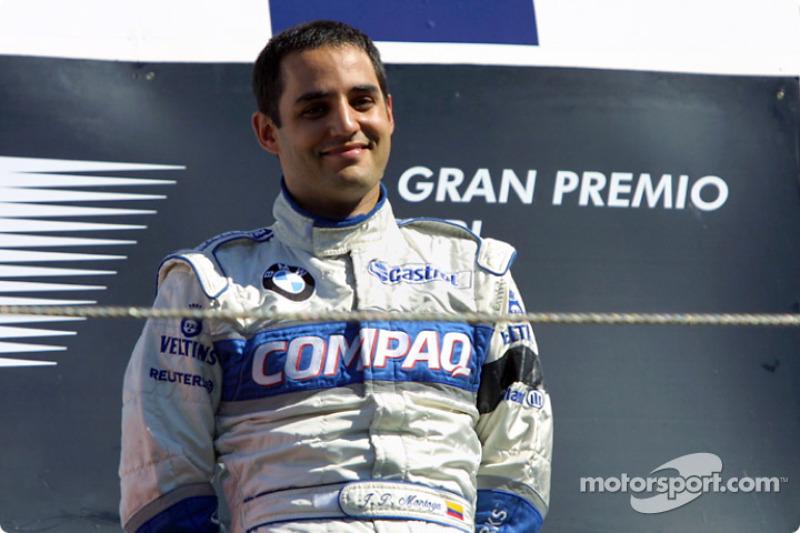 #91 Juan Pablo Montoya, Williams