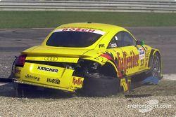 Unfall: Martin Tomczyk, Abt Sportsline Junior, Abt-Audi TT-R