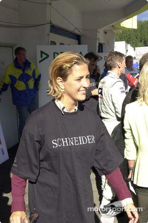 La esposa de Bernd Schneider