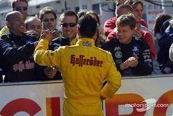 Laurent Aiello y su equipo