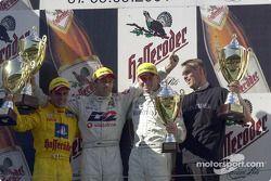 Le podium: Laurent Aiello, Bernd Schneider et Uwe Alzen