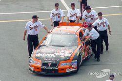 ¿Joe Gibbs Racing o los Orioles de Baltimore?