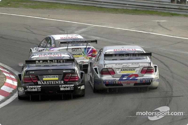 2001 год: десять побед в сумме среди всех гонщиков Mercedes и второй титул в «новом» DTM для Шнайдера