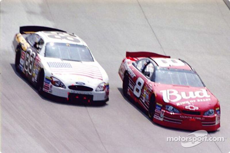 Dale Jarrett and Dale Earnhardt Jr.