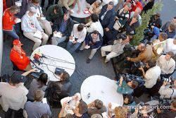 Conferencia de prensa con Michael Schumacher