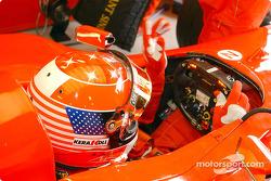 Un casque spécial pour Michael Schumacher